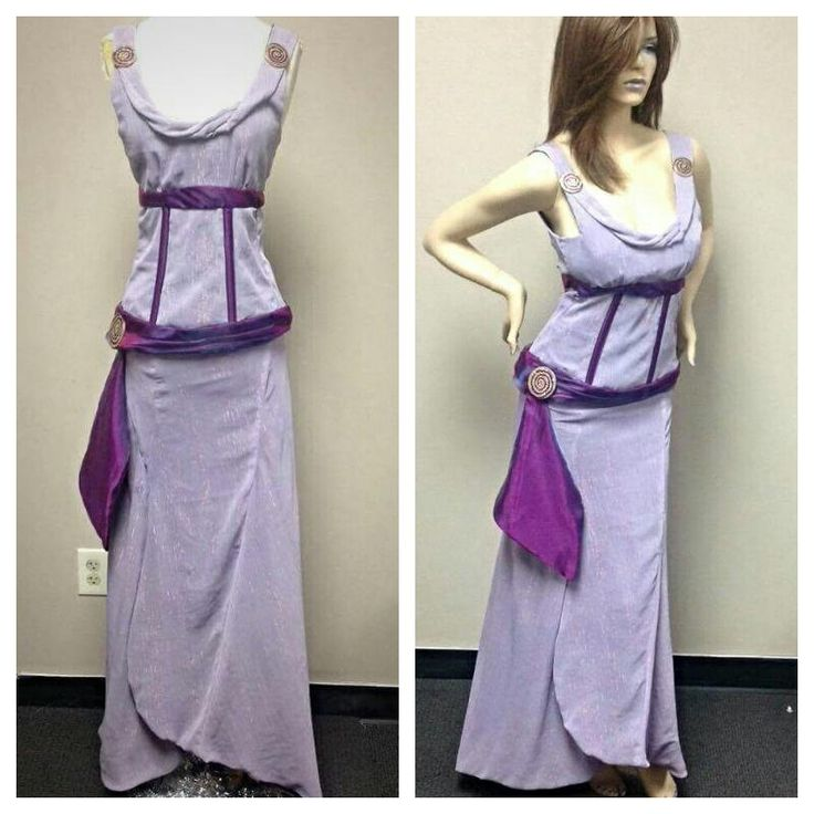 Meg Megara From Hercules Dress Costume Cosplay by HouseofLuxDesign on Etsy