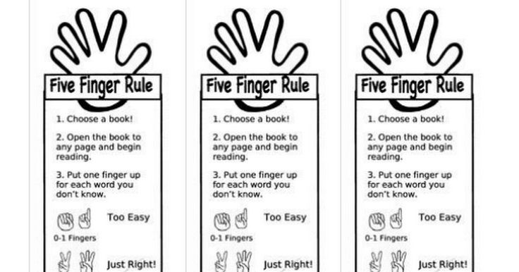 Five Finger Rule Bookmark.pdf