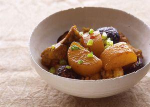 大根と鶏手羽元のピリ辛煮