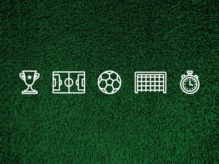 Soccer Icons by Olivia Grace
