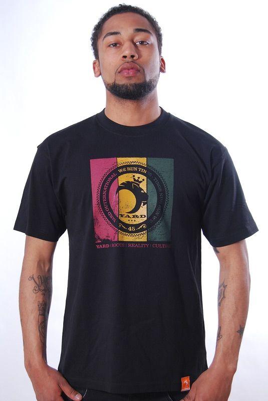 UPRISING, T-Shirt, Black