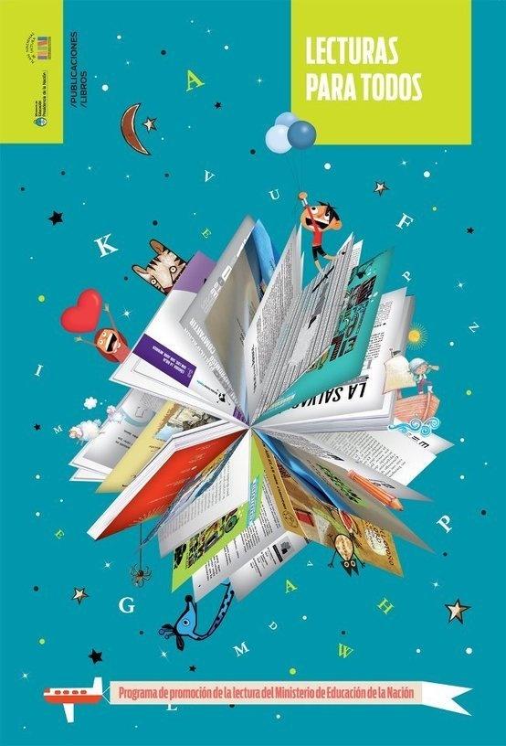 Afiche de publicaciones del Plan Nacional de Lectura | En la biblio