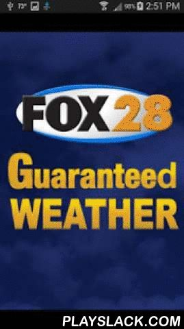 FOX28Weather  Android App - playslack.com ,  WSJV is proud to announce a full featured weather app for Android.Features * Access to station content specifically for our mobile users * 250 meter radar, the highest resolution available * Future radar to see where severe weather is headed * High resolution satellite cloud imagery * Current weather updated multiple times per hour * Daily and Hourly forecasts updated hourly from our computer models * Ability to add and save your favorite…