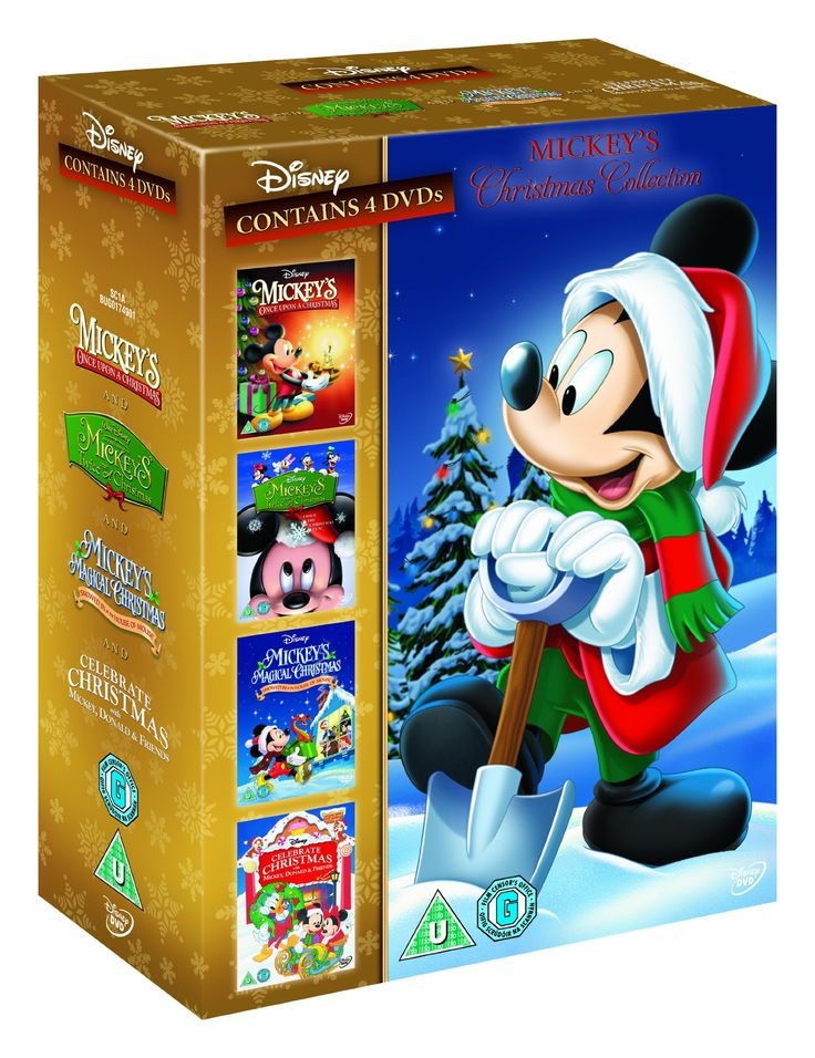 Mickey's Christmas Collection Once Upon, Twice Upon, Magical Christmas, Celebrate Christmas DVD: Amazon.co.uk: Mickey Mouse: DVD & Blu-ray
