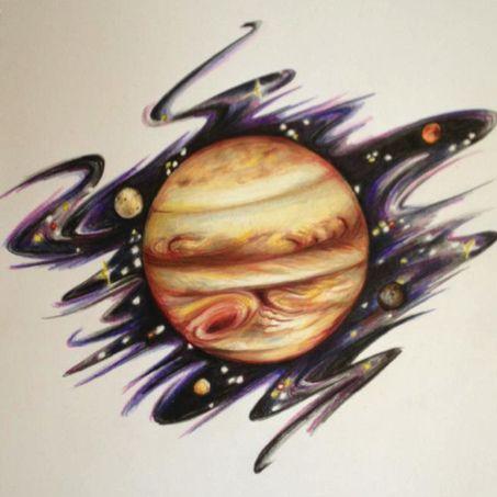 Jupiter tattoo | Jupiter | Pinterest