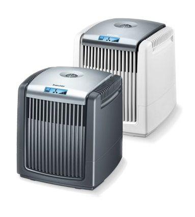 Beurer LW 110 hava temizleyici ve nemlendirici cihaz ile 2 önemli özellik bir araya getirilmiştir. Cihazda filtresiz filtreleme teknolojisi mevcuttur. Filtreleme işlemini su ile yapmaktadır. Böylece kullanıcıyı filtre değiştirme derdinden kurtarır. Kurulumu, kullanımı ve bakımı çok kolaydır. Siyah ve beyaz renk seçenekleri ile dekoratif ve şıktır. http://www.sesanltd.com.tr/magaza/hava-temizleyici-ve-nemlendirici-beurer-lw-110/