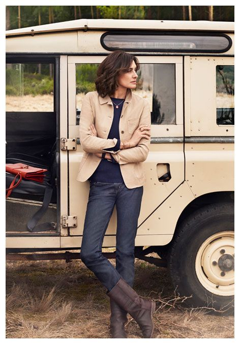 Ines de la Fressange | A collaboration with the world-renowned Parisienne - UNIQLO UK