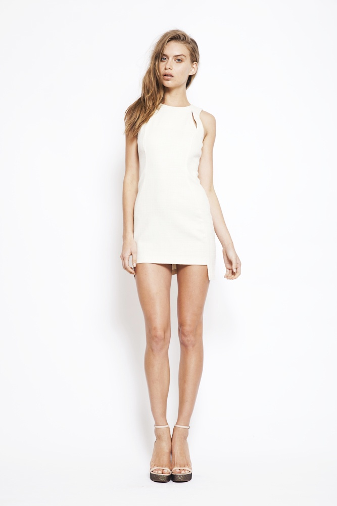 marshmallow mini dress RRP $240