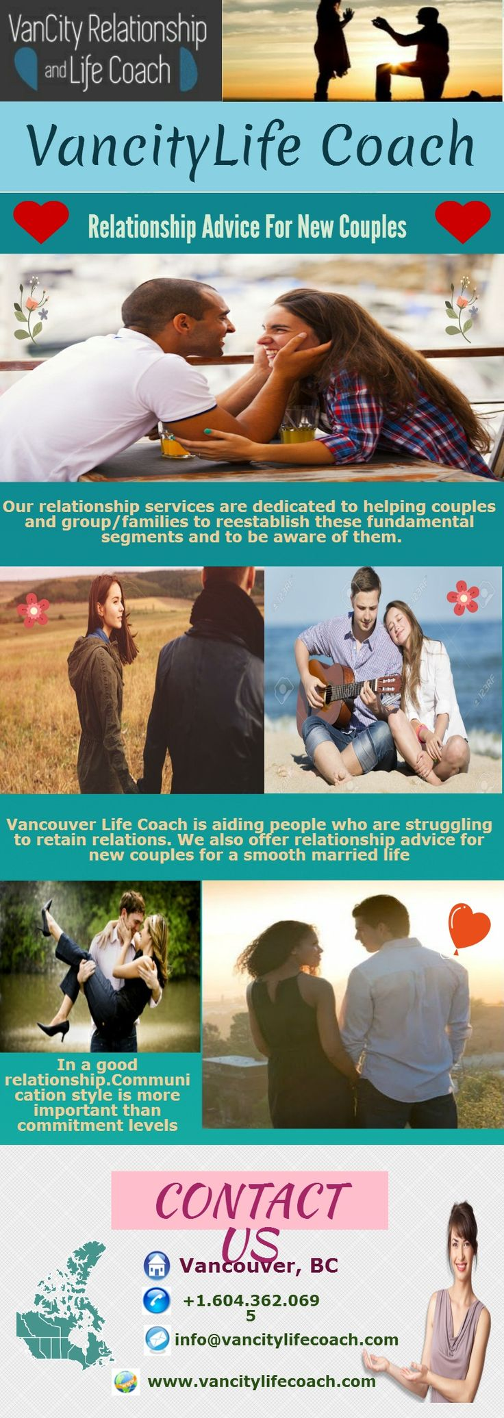 Have you ever been in a state of ambivalence in your relationship where you are not sure what to do? Then worry ! not VanCity Life Coaching Vancouver brings best relationship advice for newly couples to make their relationship perfect.