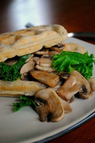 Savoury ignore the veganess and make something like this with mushrooms and swiss and something green