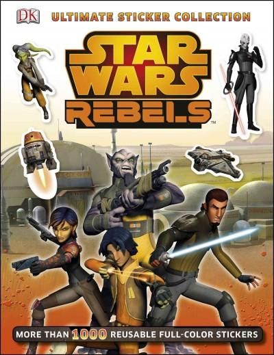 Step into the exciting world of Star Wars Rebels with the all-new Ultimate Sticker Collection: Star Wars Rebels from DK. Young Padawans can mix and match their favorite Rebels scenes with fun and colo