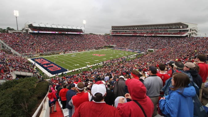 Vaught-Hemingway Stadium University of Mississippi