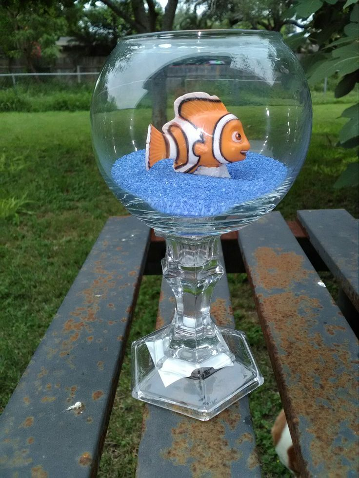 Finding Nemo Centerpiece Water Party Pinterest More