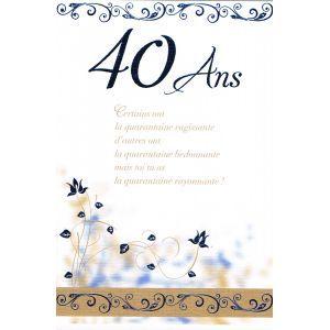 1000 id es sur le th me texte anniversaire 40 ans sur pinterest texte anniversaire textes et. Black Bedroom Furniture Sets. Home Design Ideas