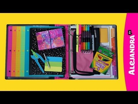 Back to School Organization: How to Organize Your Binder & Notes