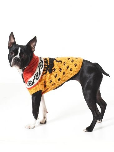 FREE PATTERN...@penny shima glanz shima glanz shima glanz shima glanz Douglas Pattern - Keep 4-legged friends cozy in this Cowichan style dog coat.