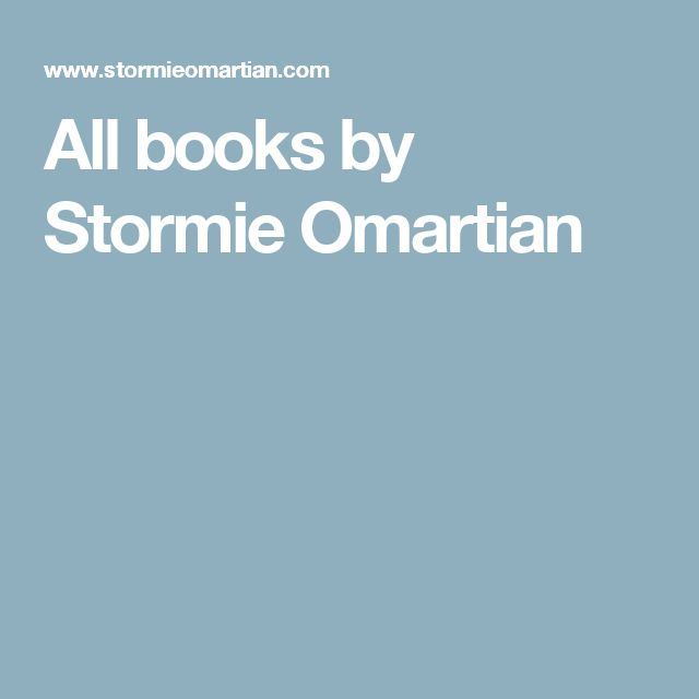 All books by Stormie Omartian