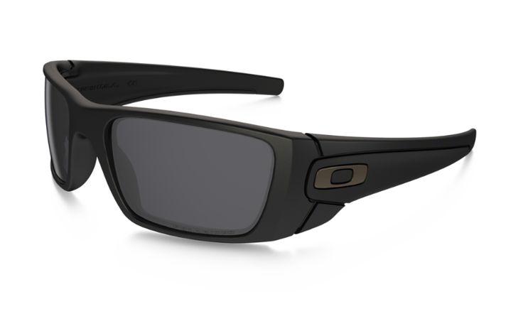 Oakley Sunglasses Fuel Cell - Matte Black/Gray Polarized