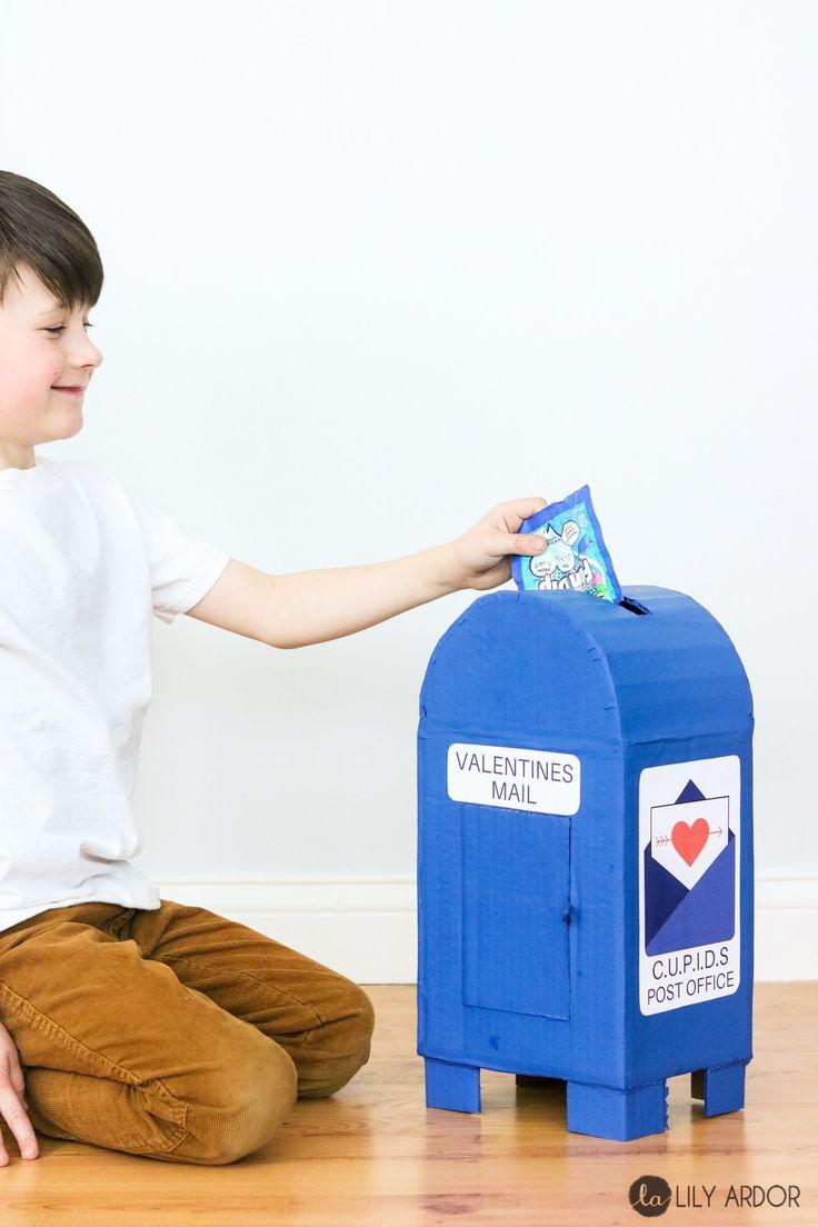 Valentines box for boys