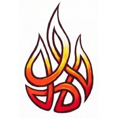 Fire Tattoo Meaning - Here my tattoo