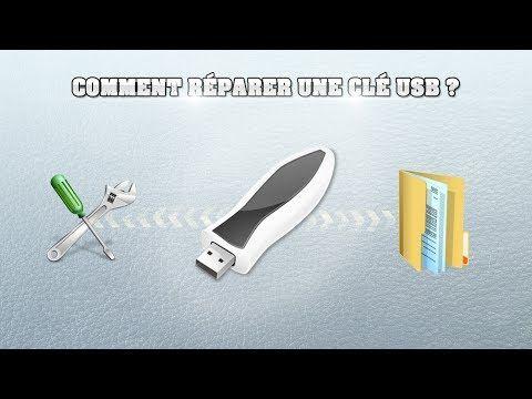 [Tuto] Comment réparer une clé USB ! - YouTube