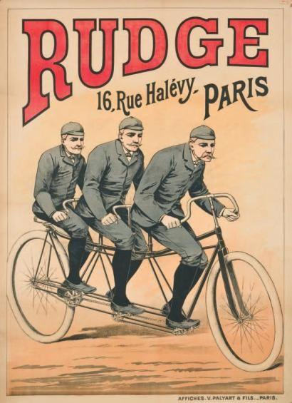 1890 95 triplette RUDGE PARIS