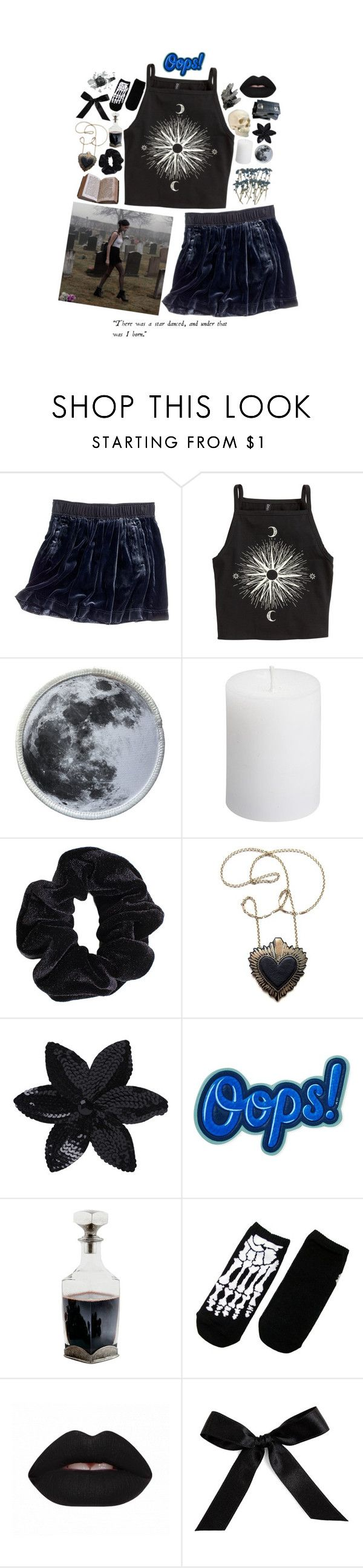 """""""drinking by the mausoleum door"""" by ghostclub ❤ liked on Polyvore featuring Madewell, H&M, American Apparel, Rosita Bonita, ASOS, Anya Hindmarch, Peek and Bocage"""