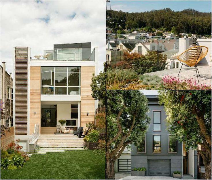 Connu Les 25 meilleures idées de la catégorie Maison toit terrasse sur  BI95