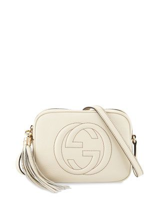 Soho Small Shoulder Bag, Mystic White by Gucci at Neiman Marcus.