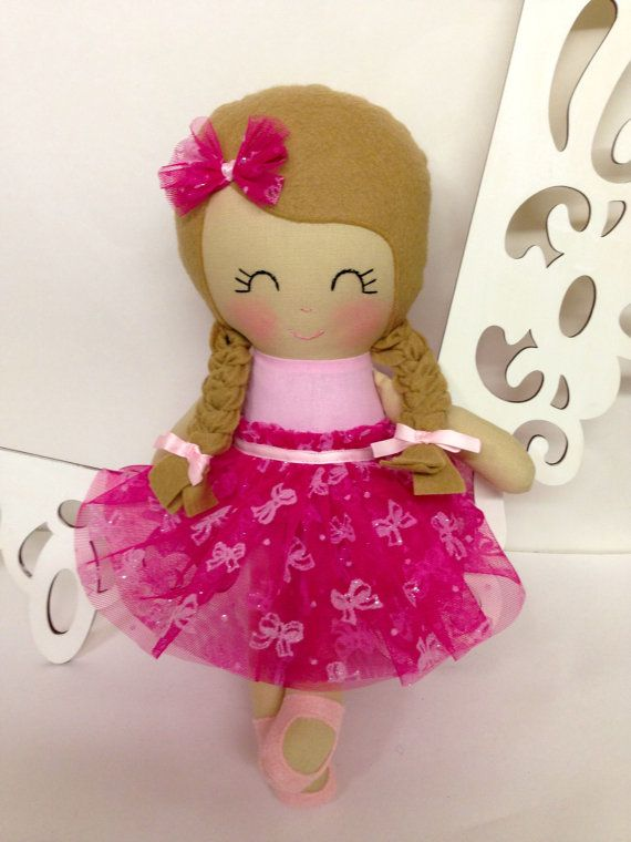 Cloth baby doll Handmade Dolls Fabric Dolls by SewManyPretties, $50.00