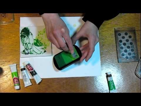 Make your own pigment & chalk ink video. One of the most frugal techniques requested from me is how I made my own chalk & pigment ink pads. Lindsay of the FrugalCrafter has made a video showing you how. This is the best video. Note, I do add glycerin to my chalk mixture. Lindsay leaves it out. I like the look but I did forget that chalk ink is supposed to be fast drying. If I taught you to add glycerin don't unless you want a slow drying time for a technique.