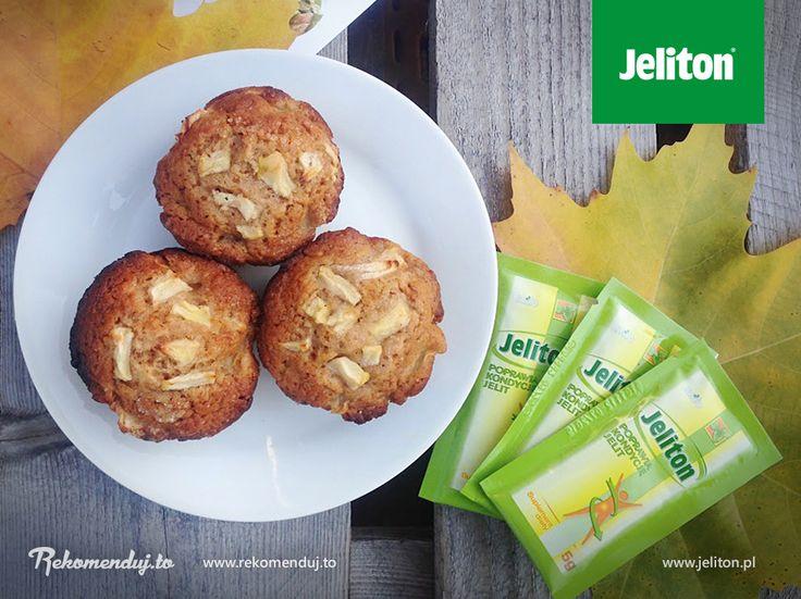 Babeczki z jabłkiem i cynamonem a w dodatku z Jelitonem :) Można? Można! #jeliton #AmbasadorJeliton #rekomendujto #buzzmedia