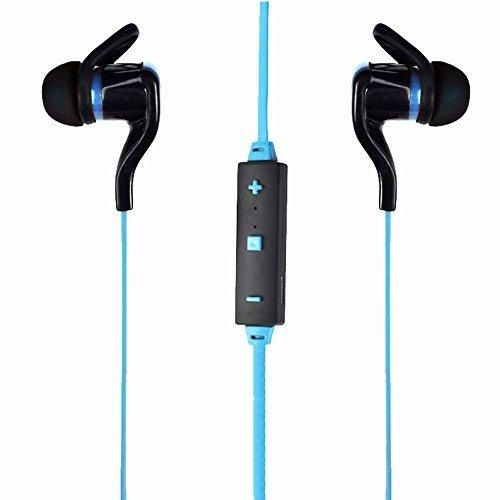 Bluetooth Headset Folote Premium Wireless V4.1 Bluetooth Stereo Sports Headphone with Microphone Noise Reduction Bluetooth Earbuds Sweatproof for Running Sports (Blue)