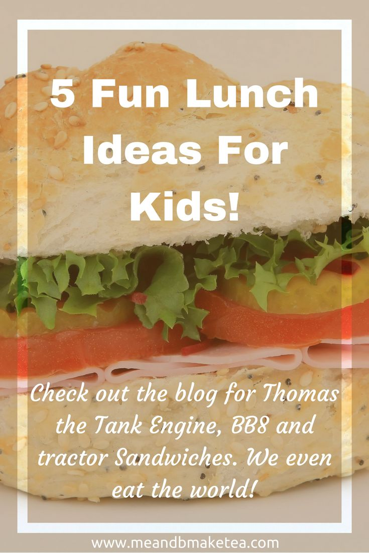 tractor harold helicopter bb8 We've been super busy at the me and b hq but today we want to share with you FIVE of our favourite toddler lunch ideas. Now remember, I'm not super mum and I don't have loads of time on my hands. All these lunch ideas didn't take long to prep – just five minutes or so to think of the idea! But lucky for you, I already did that and share with you how to make these cute lunches from scratch.    My absolute favourite fun lunch is this Harold Helicopter sandwich.