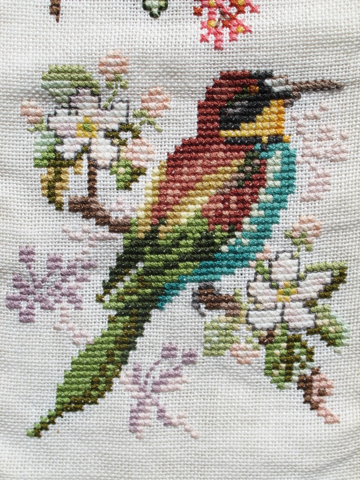 Barn Swallow cross stitch - another cool cross stitch bird!