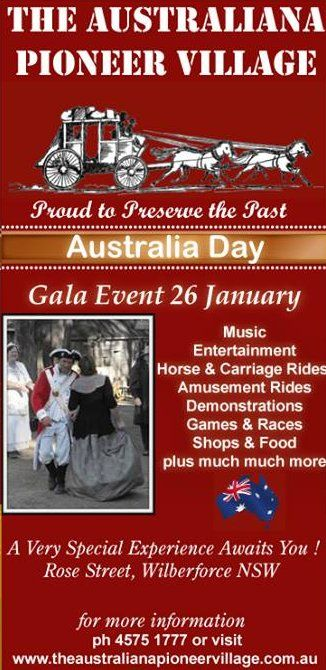 #AustraliaDay #Ausday #AustralianaPioneerVillage