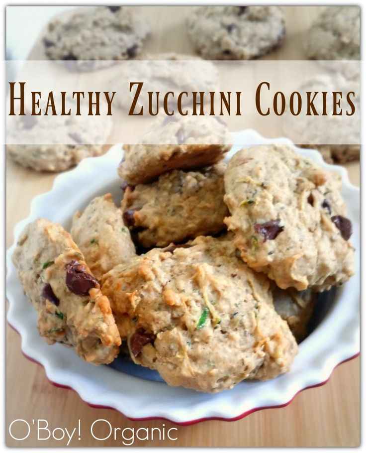 These Healthy Zucchini Cookies are perfect for a back to school treat. Make big batches and freeze extras.