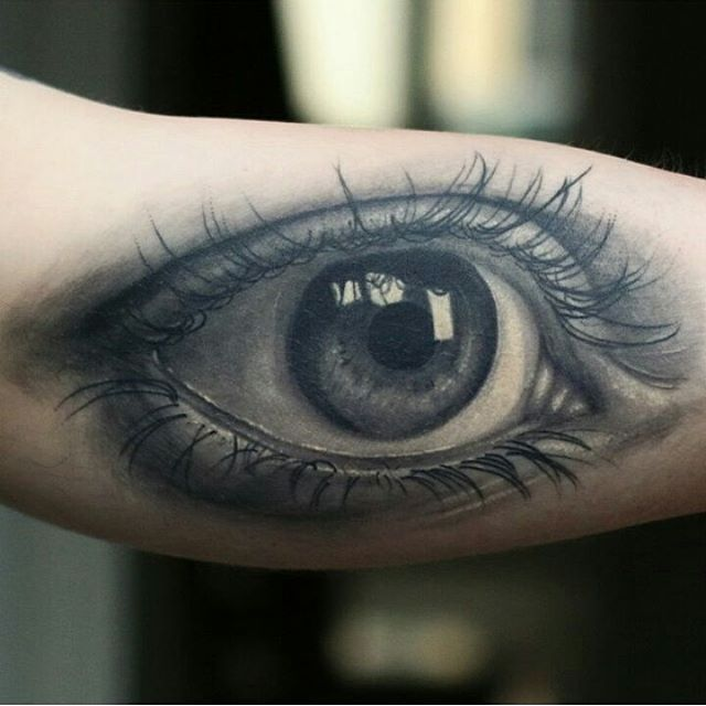 I want something like this but with a rainbow iris