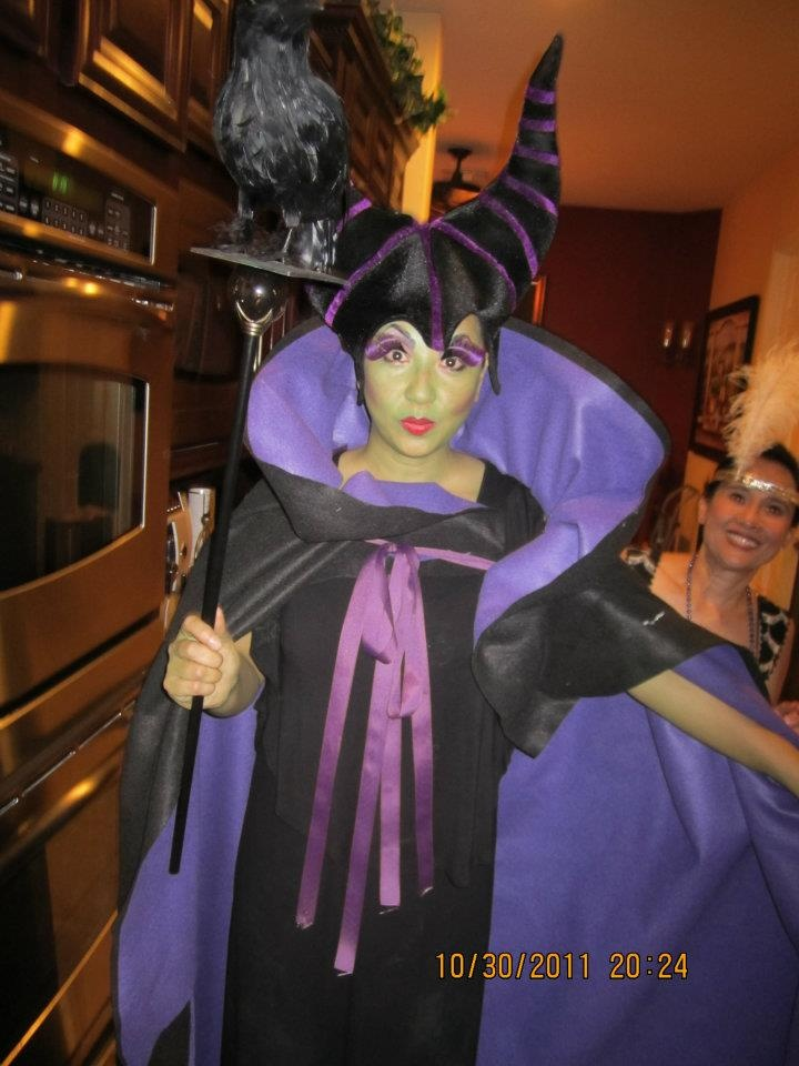 malificent for a costume party themed storybook 2011 - Halloween Costumes Parties