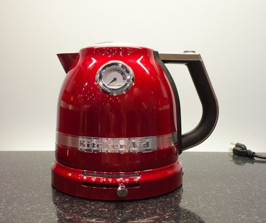 Electric Kettle from KitchenAid's Pro Line Series — Faith's Daily Find 03.07.13
