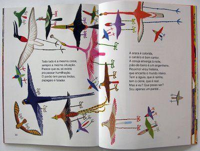 Livro com ilustrações de Roger Mello