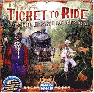 Ticket to Ride Map Collection: Volume 3 - The Heart of Africa | Image | BoardGameGeek