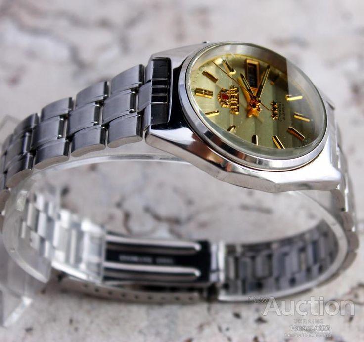 часы Orient Crystal Япония Автоподзавод Ориент Оригинал Граненое стекло