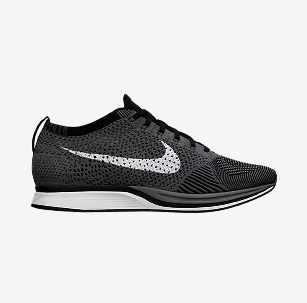 buy popular f3afb 4ae2f The Nike Flyknit Racer Dark Grey Is Now Up For Grabs! • KicksOnFire.com
