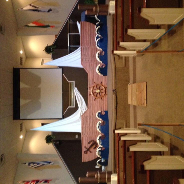 Gangway to Galilee VBS decorations
