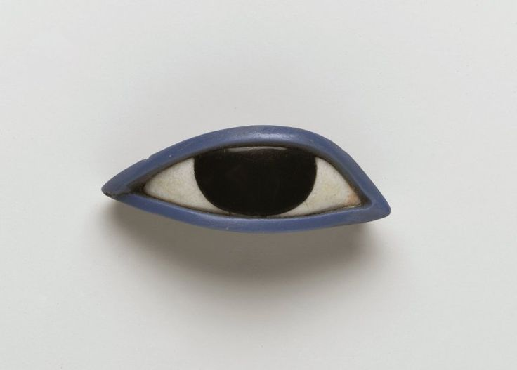 Right eye from an anthropoid coffin, Egypt, 1539-30 BC to love many things