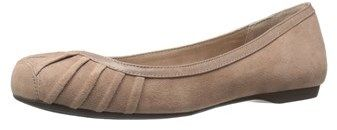Jessica Simpson Womens Merlie Leather Square Toe Slide Flats.
