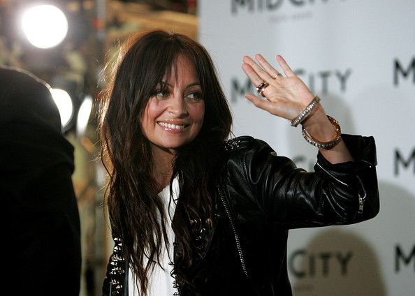 Nicole Richie Hair (although very messy) Love the ends and face-framing bang trim