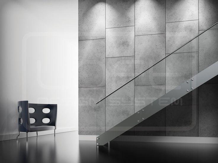 234 best images about loft design system 3d wall on pinterest models meringue and shops - Concrete fence models design ...