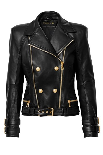 Updated: Every Single Piece From The Balmain x H&M Collab #refinery29  http://www.refinery29.com/2015/10/95805/balmain-hm-collaboration-lookbook#slide-34  Balmain x H&M Jacket, $399, available at H&M....